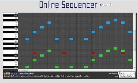Crea Facilmente Musica Online con il Generatore OnlineSequencer